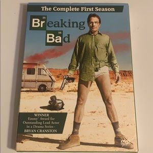Breaking bad the complete first season.
